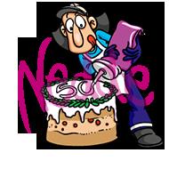 Feurian Torte 50 Jahre